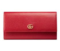 Lange Brieftasche aus Leder