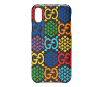 iPhone X/XS-Hülle mit GG Psychedelic-Print