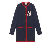 Damen Cardigan mit NY Yankees™-Patch