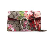 Dionysus Super-Mini-Tasche aus GG Blooms