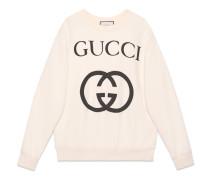 Übergroßer Pullover mit GG