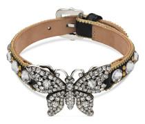 Schmetterling-Armband mit Kristallen