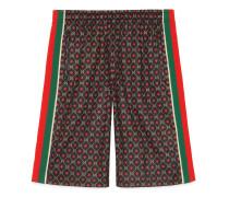 Shorts aus Jersey mit GG Sternen-Print