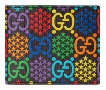 Brieftasche mit GG Psychedelic-Print