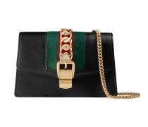 Sylvie Mini-Tasche aus Leder mit Kette