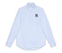 Hemd aus Baumwolle mit NY Yankees™-Patch