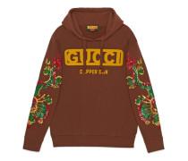 Übergroßer Gucci-Dapper Dan Pullover