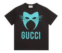 Übergroßes Gucci Manifesto T-Shirt, exklusiv online