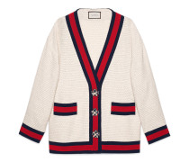 Übergroße Cardiganjacke aus Tweed