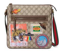 Gucci Courrier Umhängetasche aus weichem GG Supreme