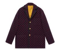 Jacke aus Wolle mit GG Motiv