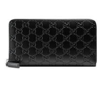 Lange Brieftasche aus Gucci Signature Leder