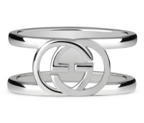Breiter Ring mit GG Motiv