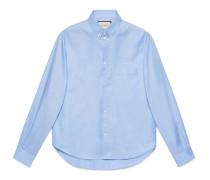 Hemd aus Oxford-Baumwolle