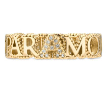 L'Aveugle Par Amour Ring mit Diamanten