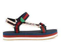 Riemensandale mit Gucci Streifen
