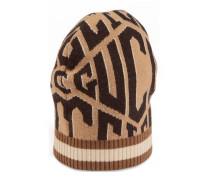 Mütze aus Wolle mit Gucci Game