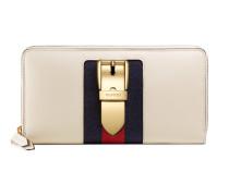 Sylvie Brieftasche mit Rundumreißverschluss aus Leder