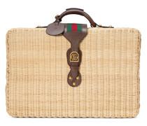 Koffer aus Korbgeflecht