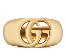 Doppel G Chevalier-Ring aus Gelbgold