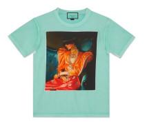 Übergroßer T-Shirt #GucciHallucination