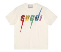 Übergroßes T-Shirt mit GucciBlade-Motiv