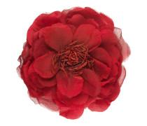 Blumen-Anstecknadel aus Seide