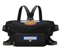 Gürteltasche mit GucciPatch im 80er-Stil