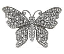 Schmetterling-Brosche mit Kristallen