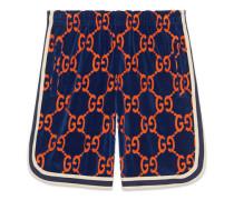 Shorts aus GG Chenille