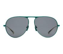 Pilotensonnenbrille aus Metall