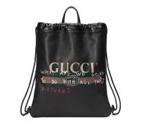 Rucksack mit Gucci Coco Capitán-Logo