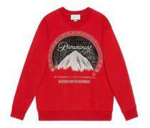 Übergroßer Pullover mit Paramount-Logo