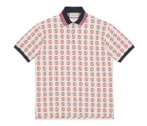 Übergroßes Poloshirt mit GG Print