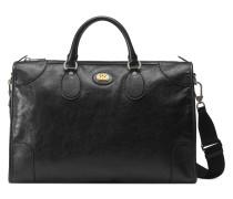 Mittelgroße Reisetasche aus weichem Leder