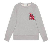 Pullover mit LA-Angels-Patch