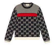 Pullover aus Strick mit GG und Streifen