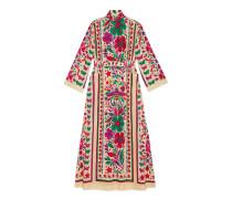 Kleid mit Star Garden-Print