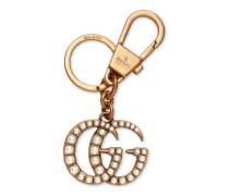 Schlüsselring mit GG mit Perlenbesatz