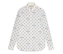 Hemd aus Gucci und Stern-FilCoupé