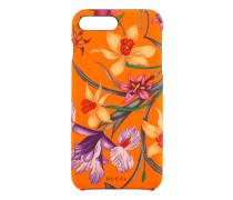 iPhone8Plus-Etui mit Flora-Print