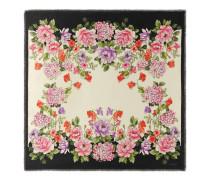 Tuch aus Modal und Seide mit Rising Flower-Print