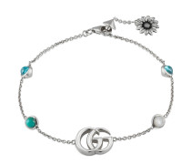 Doppel G und Blumen-Armband