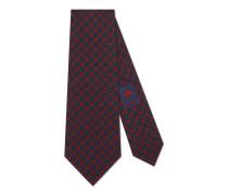 Krawatte aus Seide mit GG Rhombus-Motiv