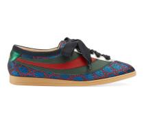 Falacer Sneaker aus Lurex mit GG und Webstreifen
