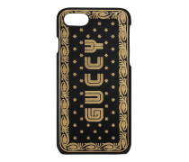 iPhone 7-Etui mit Guccy-Print