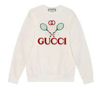 Übergroßer Pullover mit Gucci Tennis