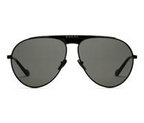 Sonnenbrille in Pilotenform