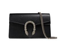 Dionysus Super-Mini-Tasche aus Leder