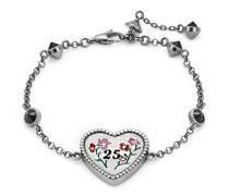 Herz-Armband aus Silber